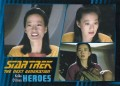 Star Trek The Next Generation Heroes Villains Trading Card 18