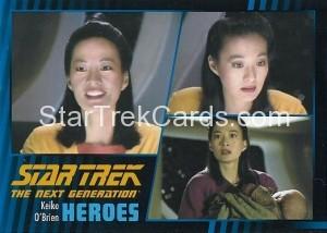 Star Trek The Next Generation Heroes Villains Trading Card 181