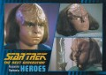 Star Trek The Next Generation Heroes Villains Trading Card 19