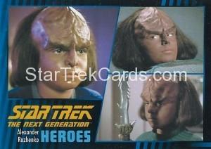 Star Trek The Next Generation Heroes Villains Trading Card 191