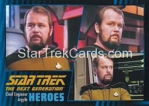 Star Trek The Next Generation Heroes Villains Trading Card 20