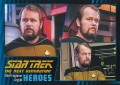 Star Trek The Next Generation Heroes Villains Trading Card 201
