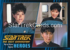 Star Trek The Next Generation Heroes Villains Trading Card 21