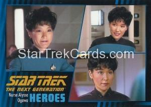 Star Trek The Next Generation Heroes Villains Trading Card 211