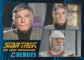 Star Trek The Next Generation Heroes Villains Trading Card 221