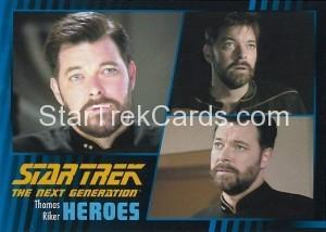 Star Trek The Next Generation Heroes Villains Trading Card 23