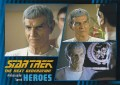 Star Trek The Next Generation Heroes Villains Trading Card 241