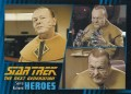 Star Trek The Next Generation Heroes Villains Trading Card 25