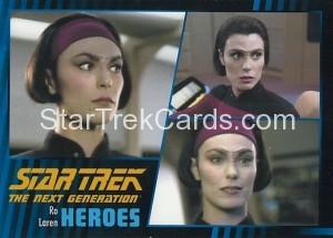 Star Trek The Next Generation Heroes Villains Trading Card 26