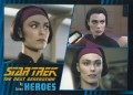 Star Trek The Next Generation Heroes Villains Trading Card 261