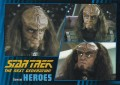 Star Trek The Next Generation Heroes Villains Trading Card 27