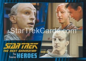 Star Trek The Next Generation Heroes Villains Trading Card 29