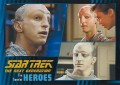 Star Trek The Next Generation Heroes Villains Trading Card 291