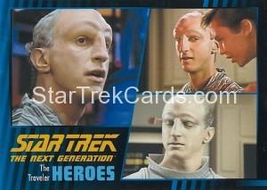 Star Trek The Next Generation Heroes Villains Trading Card 291