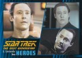 Star Trek The Next Generation Heroes Villains Trading Card 3