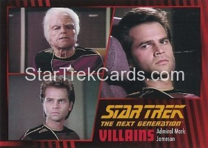 Star Trek The Next Generation Heroes Villains Trading Card 30
