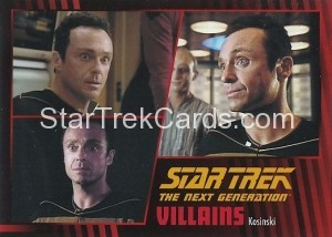 Star Trek The Next Generation Heroes Villains Trading Card 311
