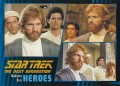 Star Trek The Next Generation Heroes Villains Trading Card 321