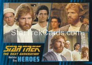 Star Trek The Next Generation Heroes Villains Trading Card 321