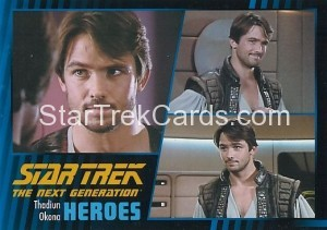 Star Trek The Next Generation Heroes Villains Trading Card 33