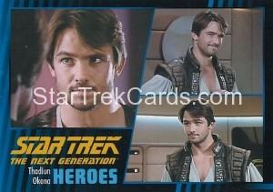 Star Trek The Next Generation Heroes Villains Trading Card 331
