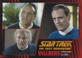 Star Trek The Next Generation Heroes Villains Trading Card 35