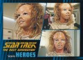Star Trek The Next Generation Heroes Villains Trading Card 36