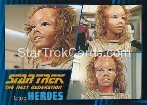 Star Trek The Next Generation Heroes Villains Trading Card 361