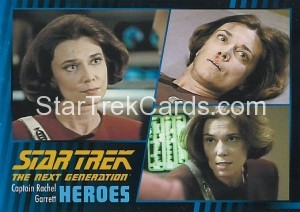 Star Trek The Next Generation Heroes Villains Trading Card 381