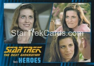 Star Trek The Next Generation Heroes Villains Trading Card 391