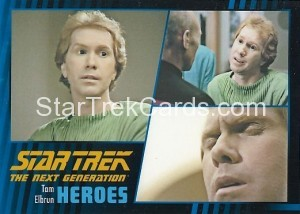 Star Trek The Next Generation Heroes Villains Trading Card 40