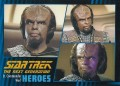 Star Trek The Next Generation Heroes Villains Trading Card 410