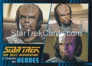 Star Trek The Next Generation Heroes Villains Trading Card 410