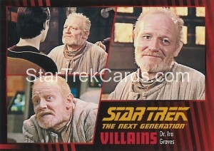 Star Trek The Next Generation Heroes Villains Trading Card 42