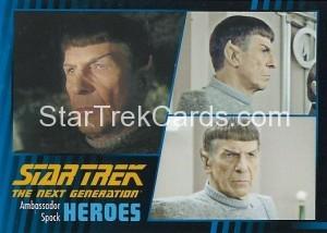 Star Trek The Next Generation Heroes Villains Trading Card 43