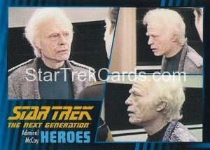 Star Trek The Next Generation Heroes Villains Trading Card 44