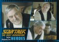 Star Trek The Next Generation Heroes Villains Trading Card 45