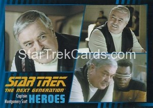 Star Trek The Next Generation Heroes Villains Trading Card 451