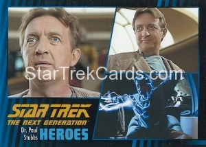 Star Trek The Next Generation Heroes Villains Trading Card 461