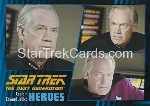Star Trek The Next Generation Heroes Villains Trading Card 47