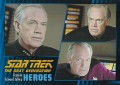 Star Trek The Next Generation Heroes Villains Trading Card 471