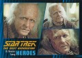Star Trek The Next Generation Heroes Villains Trading Card 483