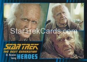 Star Trek The Next Generation Heroes Villains Trading Card 483