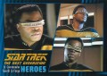 Star Trek The Next Generation Heroes Villains Trading Card 5
