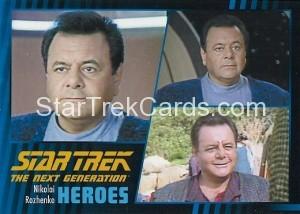 Star Trek The Next Generation Heroes Villains Trading Card 511