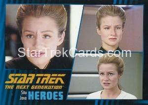 Star Trek The Next Generation Heroes Villains Trading Card 52