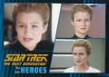 Star Trek The Next Generation Heroes Villains Trading Card 521