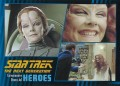 Star Trek The Next Generation Heroes Villains Trading Card 541