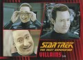 Star Trek The Next Generation Heroes Villains Trading Card 56