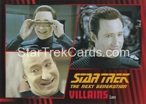 Star Trek The Next Generation Heroes Villains Trading Card 561